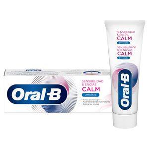 ORAL B pasta dentífrica calm sensibilidad & encías tubo 75 ml