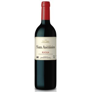 SAN ASENSIO vino tinto DO Rioja botella 75 cl